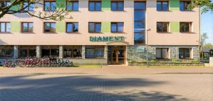 Hotel WCZASY W POBIEROWIE dojazd własny - OŚRODEK WYPOCZYNKOWY DIAMENT