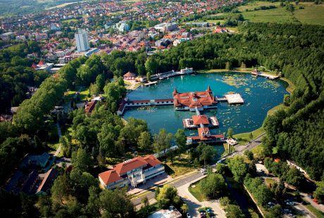 CUDOWNE JEZIORO TERMALNE - Heviz - hotel Panorama