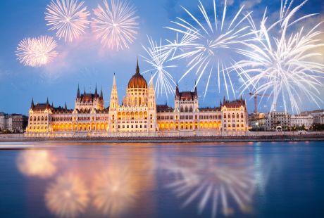 Budapeszt + zabawa sylwestrowa w hotelu + Plenerowa Zabawa nad Balatonem - BALATON HOTEL SIOFOK